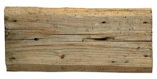 Старые деревянные доски изолированные на белой предпосылке Стоковое фото RF