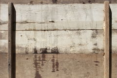 Старые деревянные панели для предпосылки Стоковая Фотография RF