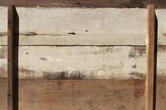 Старые деревянные панели для предпосылки Стоковые Фотографии RF