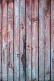 Старые деревянные планки в строке, предпосылке Стоковые Фотографии RF
