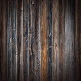 Старые деревянные планки в строке Стоковая Фотография RF
