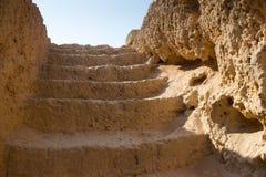 старые лестницы Стоковая Фотография