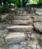 старые лестницы Стоковое фото RF
