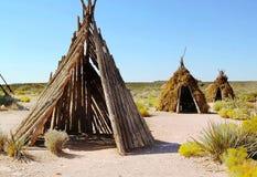 Старые жилища племен зоны грандиозных каньон грандиозный Стоковые Фото