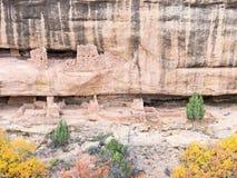 Старые жилища скалы Стоковые Фотографии RF