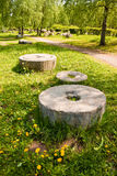 Старые жорнова Стоковая Фотография