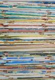 Старые журналы стоковые изображения