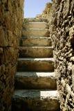 старые загубленные шаги Стоковое Изображение