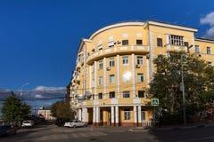 Старые здания в центре самары Стоковое фото RF