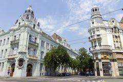 Старые здания в Szeged стоковые фото