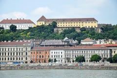 Старые здания Будапешта стоковое фото rf