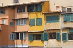 Старые здания в Флоренсе, Италии Стоковые Изображения RF