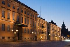 Старые здания в Хельсинки Стоковое Фото