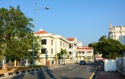 Старые здания в Penang, Малайзии Стоковое фото RF
