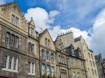 Старые здания, Grassmarket Эдинбург Стоковое Фото