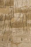 Старые иероглифы Египета высекли на камне Стоковые Изображения