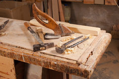 Старые инструменты Стоковые Фотографии RF