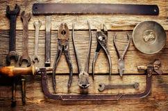 старые инструменты Стоковые Изображения