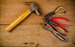 старые инструменты Стоковое Изображение