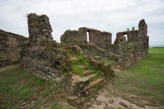 Старые испанские руины форта в Панаме стоковая фотография rf