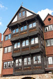 Старые и современные дома Стоковые Изображения RF