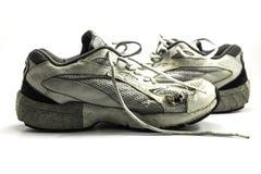 старые идущие ботинки стоковое изображение