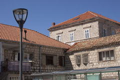 Старые каменные здания стоковые фото