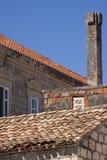 Старые каменные здания стоковые фотографии rf