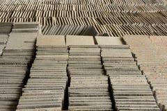 Старые каменные плитки Стоковая Фотография