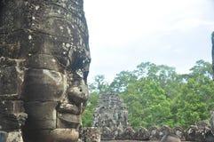 Старые каменные статуи Стоковые Изображения RF