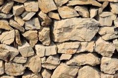 Старые каменные стены, крупный план изображений стоковые изображения rf