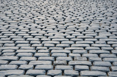 Старые камень или предпосылка cobble Стоковое Фото