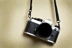Старые камера и объектив для фотографии Стоковые Фотографии RF