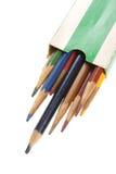 старые карандаши Стоковая Фотография RF