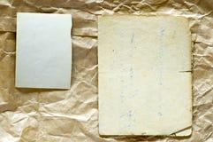 старые картины бумаг Стоковая Фотография RF