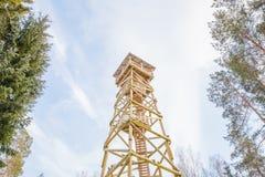 Старые карьер и башня песка на людоеде города Фото перемещения 2018 Стоковые Изображения RF