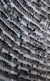 Старые квартиры на дне Стоковая Фотография RF