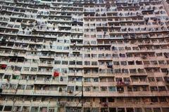 Старые квартиры Стоковые Фото