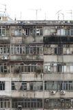 Старые квартиры Стоковая Фотография