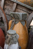 Старые керамические опарникы Стоковое Изображение