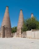 Старые керамические печные трубы, Севил Стоковая Фотография