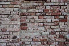 Старые кирпичные стены закрывают вверх Стоковое Изображение