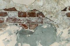 Старые кирпичные стены закрывают вверх стоковые фотографии rf