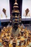 Старые китайцы gloden реликвии стоковые фото
