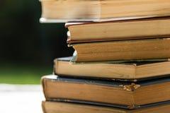 Старые книги закрывают вверх Стоковое Фото