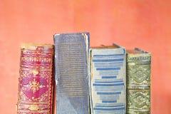 Старые книги закрывают вверх Стоковые Фото