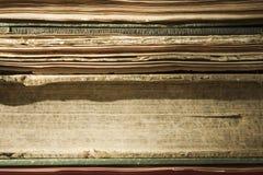 Старые книги Стоковое Изображение