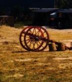 Старые колеса экипажа Стоковое Фото