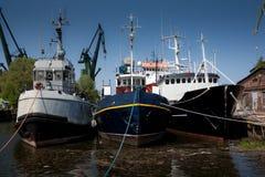 старые корабли Стоковое Фото