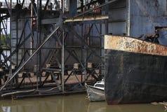 старые корабли Стоковые Изображения RF